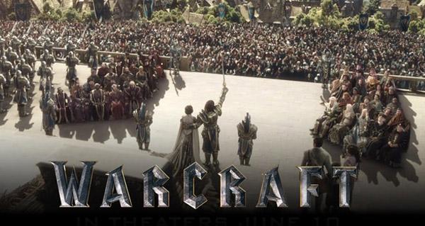 Nouveau spot publicitaire pour le film Warcraft