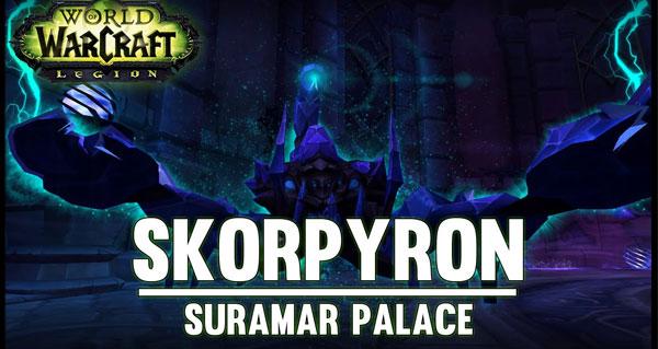 Legion : Skorpyron du Palais de Suramar
