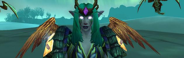 Olos, mon Druide Elfe de la nuit et personnage principal dans WoW !