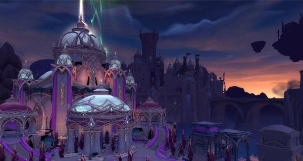 Legion : la cité de Suramar en images