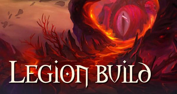 Nouveau build sur Legion
