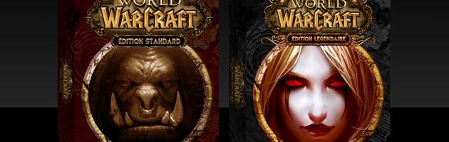 World of Warcraft sera disponible en édition standard et légendaire