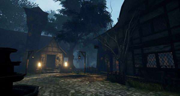 Bois de la Pénombre sous Unreal Engine 4