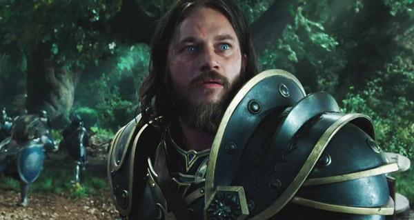 Lothar, joué par Travis Fimmel, dans le film Warcraft