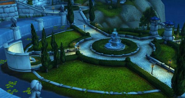 Le parc de Hurlevent reconstruit dans Legion
