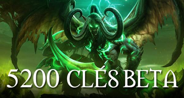Beta Legion : 5 200 clés à gagner !
