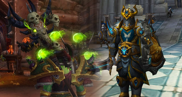 Warcraft : les transmogrifications d'armes
