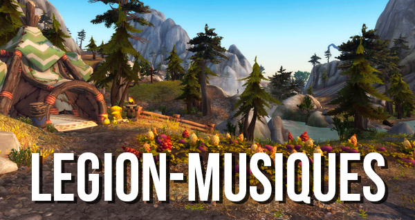 31 nouvelles musiques de Legion