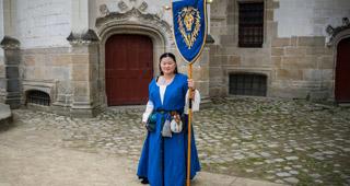 Mee Yung au chateau des Ducs de Bretagne de Nantes