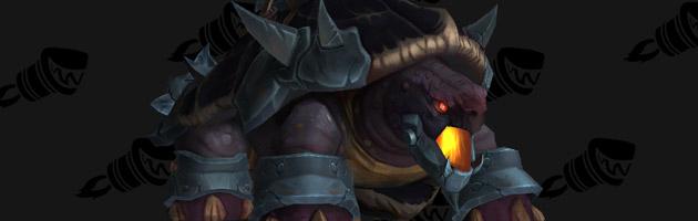 Monture Arcadian War Turtle du métier de la Forge