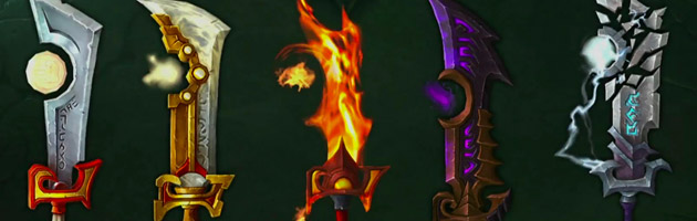 Porte-Cendres est l'arme prodigieuse du Paladin Vindicte