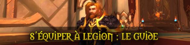 Equipement Legion WoW