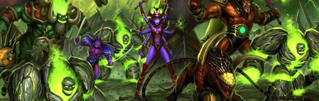Une armée de démons en Outreterre