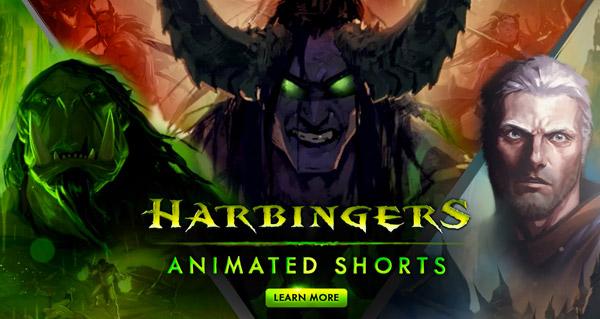Harbingers : une série de court-métrages sur Legion