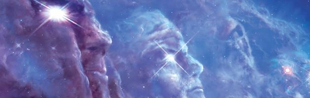 Le Panthéon des Titans, parcourant l'univers