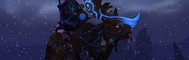 La monture Gardien du Bosquet s'obtient sur Archimonde en héroïque ou mythique