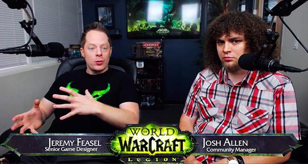 Jeremy Feasel et Josh Allen, lors du Q&A