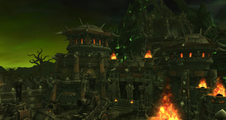 Entrez dans la cours de la Citadelle à Tanaan