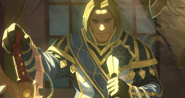 Comic Legion : Anduin, Fils du Loup