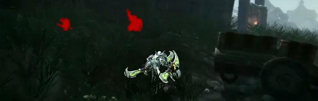 Vision spectrale permet de voir les ennemis invisibles, camouflés ou cachés derrière les murs