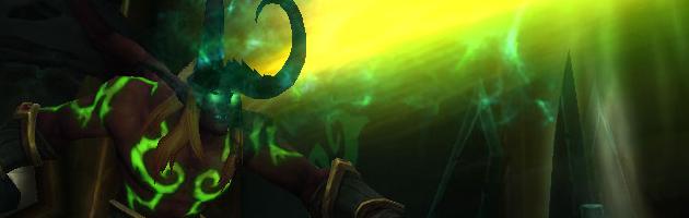 Le Chasseur de démons Dévastation est un combattant en mêlée très mobile