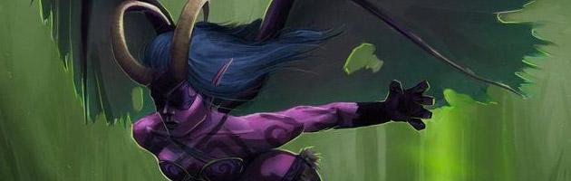 Le Chasseur de démons peut planer à l'aide de ses ailes !
