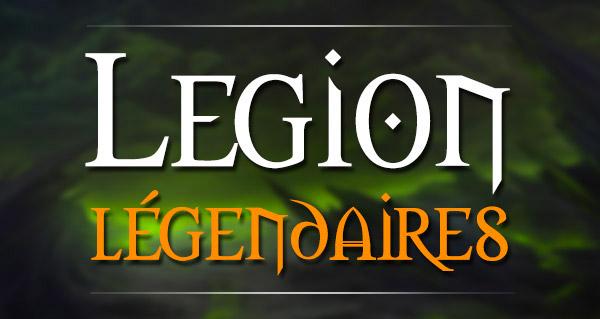 Legion : le guide des objets légendaires