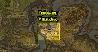 L'émissaire se situe à Valdisdall