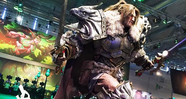 Le stand de Blizzard à la Gamescom