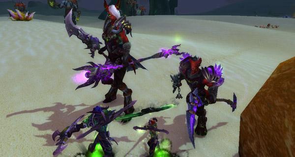 Invasion de démons : gain d'xp augmenté