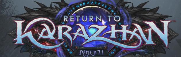 Bientôt de nouvelles informations sur le patch 7.1 : Return of Karazhan
