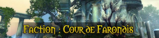Faction Cour de Farondis Legion Îles brisées
