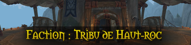 Faction Tribu de Haut-Roc Legion Îles brisées