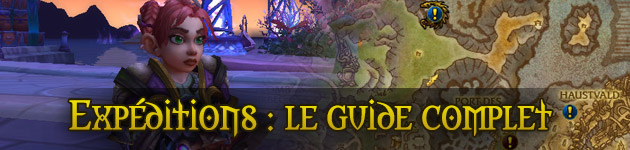 Expéditions Legion WoW