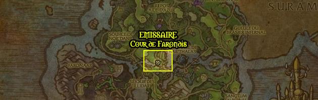 La région d'Azsuna abrite la faction Cour de Farondis
