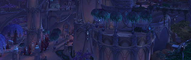Suramar était une ville importante des Elfes de la nuit