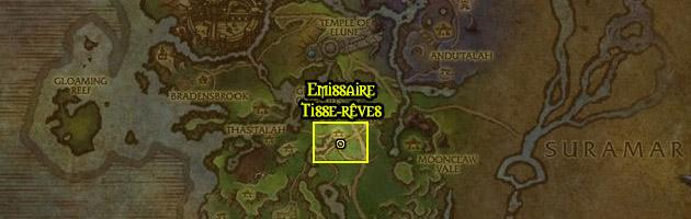 La région de Val'sharah abrite la faction Tisse-rêves