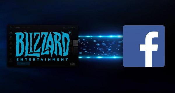 Streamer les jeux Blizzard sur Facebook