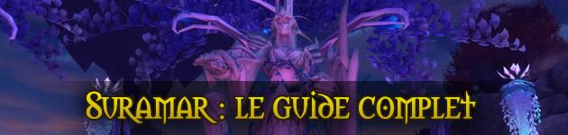 Guide de Suramar dans World of Warcraft