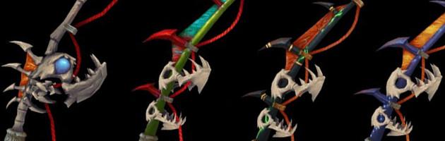 Les cinq apparences de la canne à pêche de Legion