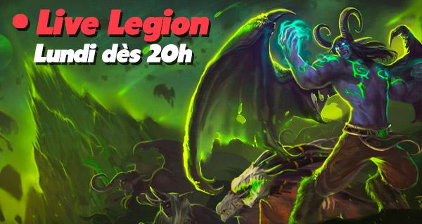 Live Legion avec Mamytwink et Zecharia