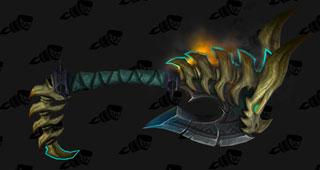 Tranchoir du tueur de dragon pour Guerrier Fureur