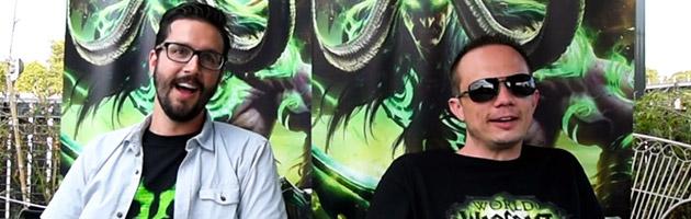 Ian Lang et Michael Bybee lors de notre interview