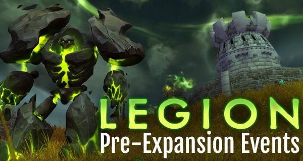 Pre-patch Legion : infographie