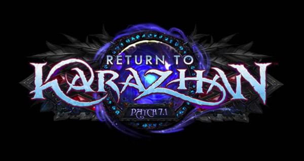 Legion : patch 7.1, Karazhan et application mobile