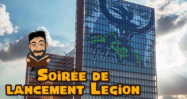 Legion : soirée de lancement