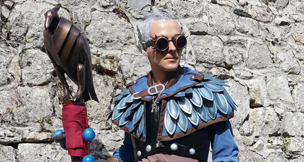 Cosplay de Khadgar de World of Warcraft