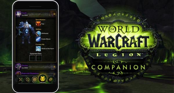 Companion Legion : l'application est disponible