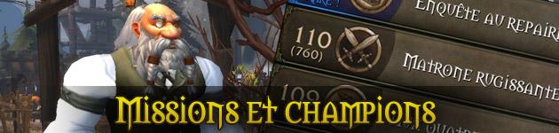 Guide des missions et champions du domaine de classe dans World of Warcraft