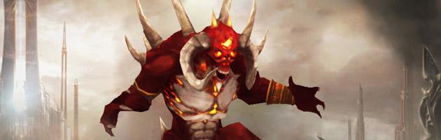 Mascotte Diablo 20ème anniversaire